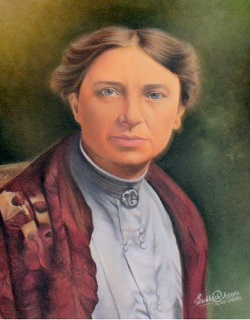 Painting of Dr Edith Brown