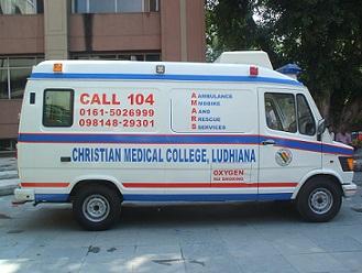 CMC ambulance