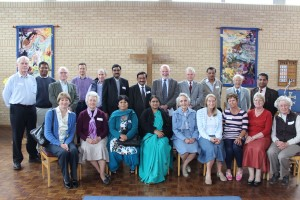 Open Day 2013: visit of Dr Abraham Thomas