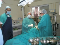 Manali Hospital operating theatre