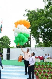 Picture shows Independence Day celebrations in CMC on 15th August 2016