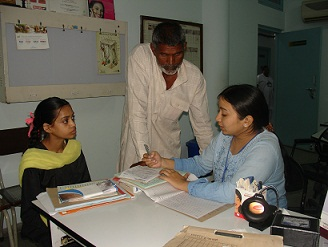 a young girl is seen in the poor patients' clinic. There are no consultation fees and the family will pay no more than they are able for investigations and medicine.