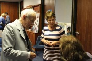 Dr. Reg Britt who organised the Open Meeting at Gerrards Cross