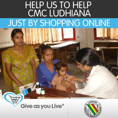 Give As You Live - CMC Ludhiana