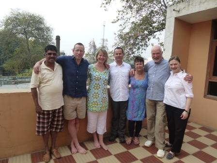 Picture shows Keith and Maralyn accompanied by friends at CMC earlier this year