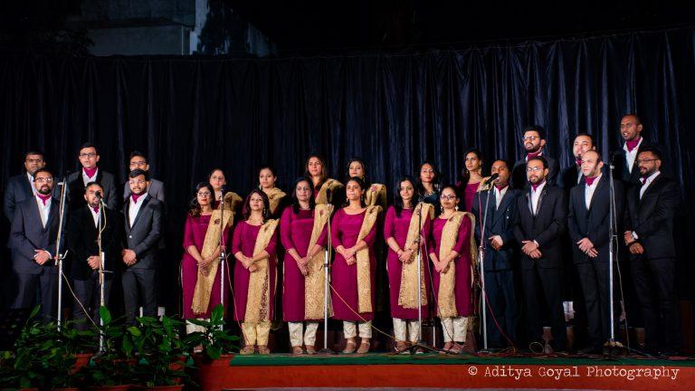 Advent choir at CMC
