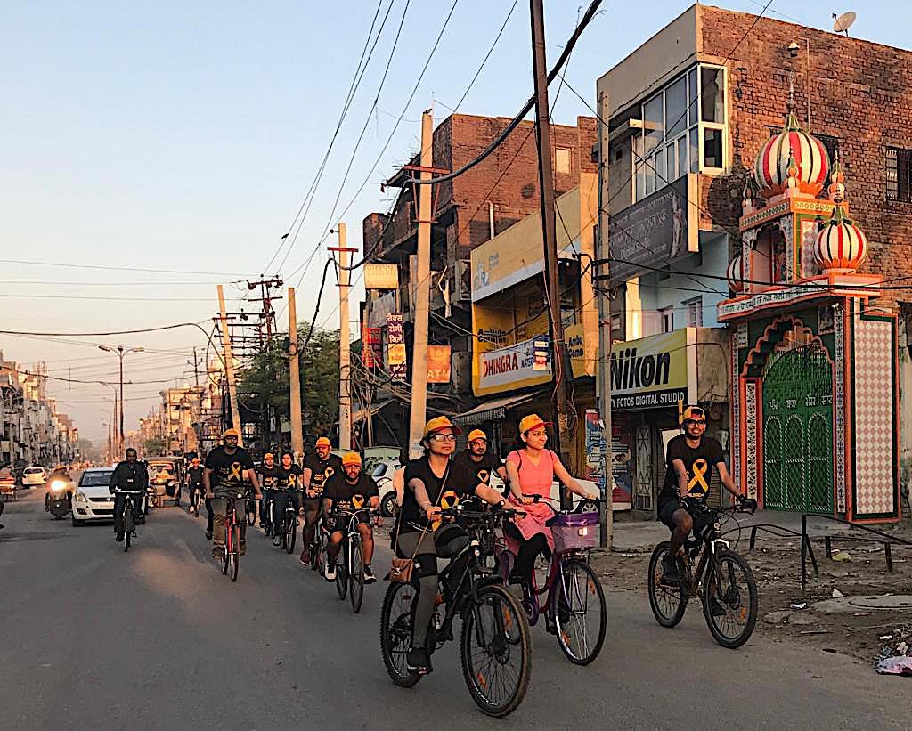 Cycle Rally Childhood Cancer Awareness on 23 September 2018