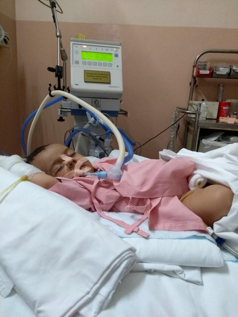 New Paediatric Ventilator